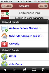 EpiSuccess Pro 2 Mobile App screenshot for iPhone 4